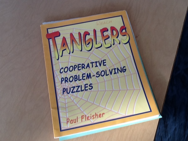 "This is the book where our ""Tanglers"" originate."