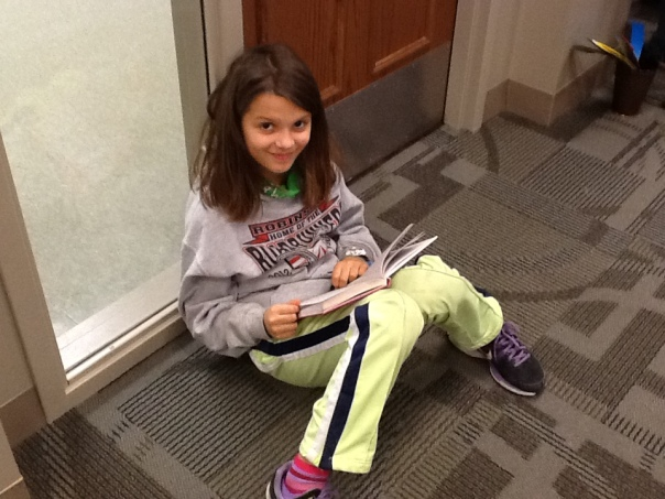 Here is another lovely fifth grade reader.