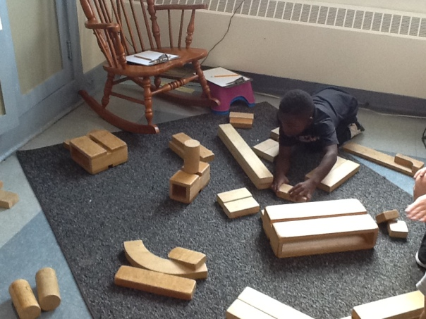Tyrin decided to put his blocks in groups of two so he could count them efficiently.