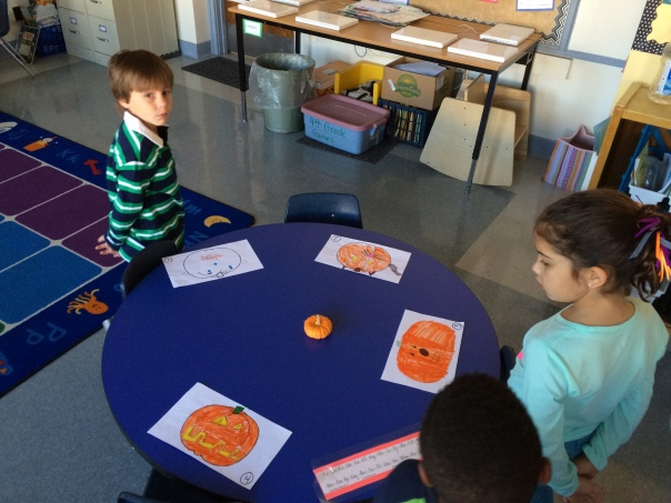 Here is another photo of our gallery walk.