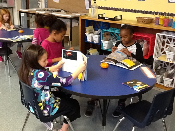 Here are a few more of our scientists doing a read around to choose a science topic they find interesting.
