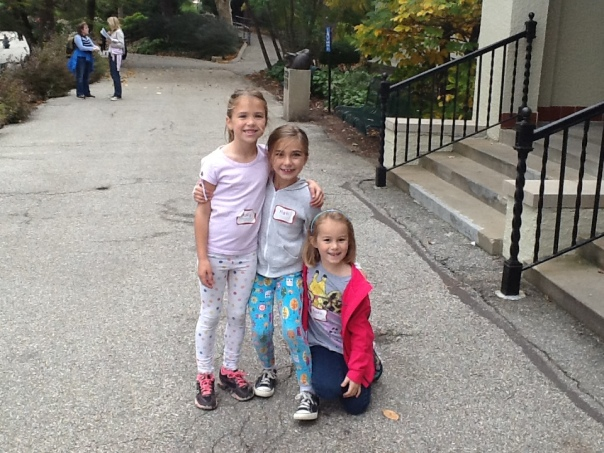 What a lovely picture of these three first grade learners.