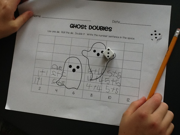 Who ever thought it could be fun to learn doubles? In our classroom it is!