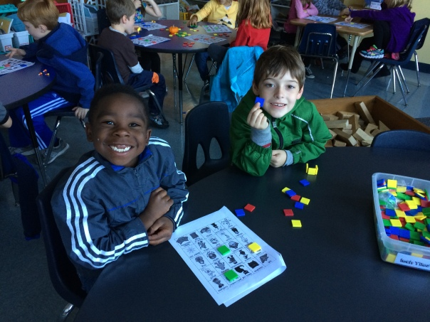 Tyrin and Alexander were our BINGO callers!