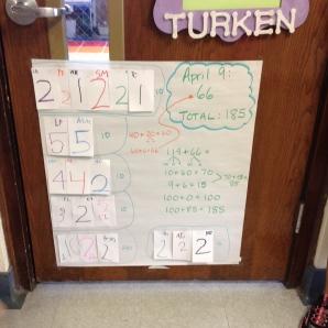Thursday's total for Walker's Club.