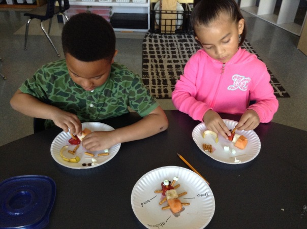 Cole and Mia work hard to make their insects, before EATING them!