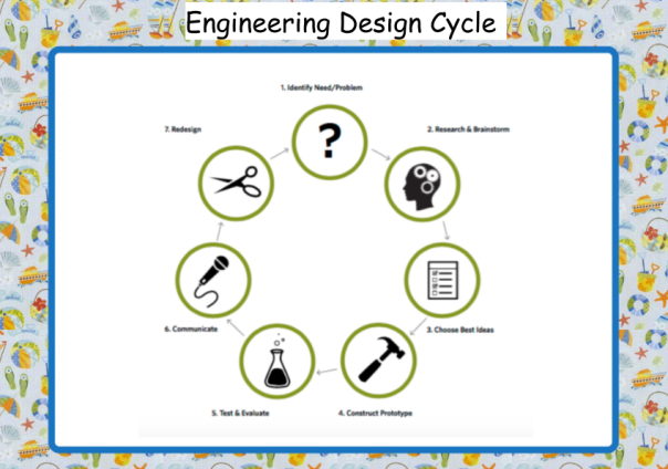 We are using our engineering design cycle to explore biomimicry.
