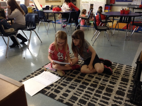 These two writers work together as the editor shared with the author.