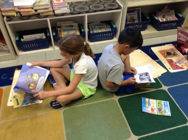 Kai and Julia worked hard to build good habits as readers.