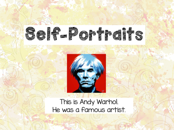 We started by talking about Andy Warhol and watching a short movie about his life and artwork.