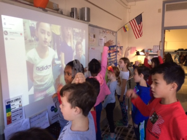 We have somehow gotten into the tradition of showing most of our Skype classes our Robinson Mindset. Everyone seems to LOVE it - or at least that's what we are told! :)