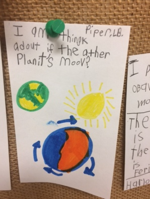 """""""I am thinking about if the other planets move."""""""