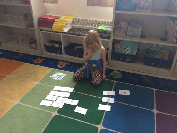Amelia thought hard as she found pairs of equal fractions during her fraction game.