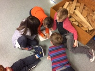 Dinosaur groups met to discuss a rough plan for their research.