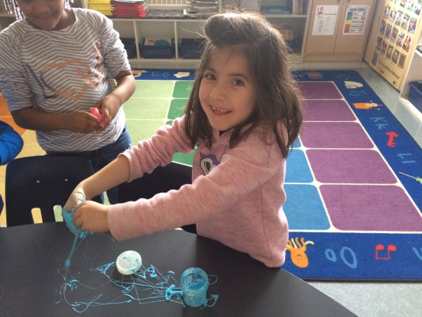 It is so much fun playing with slime!