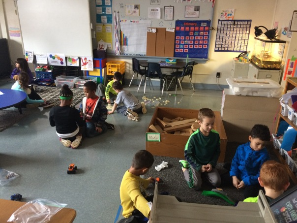 Check out some more first graders while they played during our Global Play Day.
