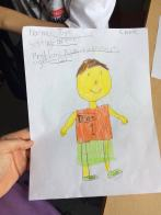 Check out the characters created for our realistic fiction writing pieces.