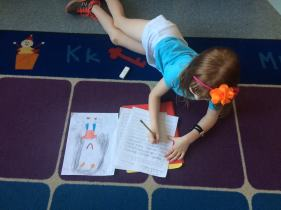 Check out this author and she wrote her realistic fiction piece.