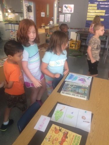 Check out our Book Museum and our books on display!