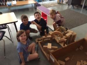 We LOVE building!