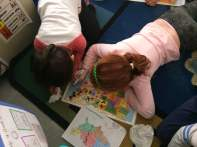 """We looked at maps and talked about questions to ask before our """"real"""" Skype."""